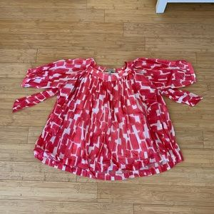 See by Chloe Pink Flowy Top Size 4
